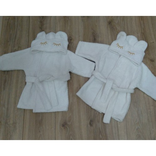 Халат для малыша махровый
